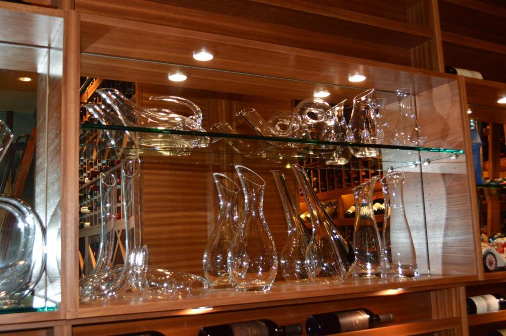 Wine Cellar Accessories Displayed within the Racking