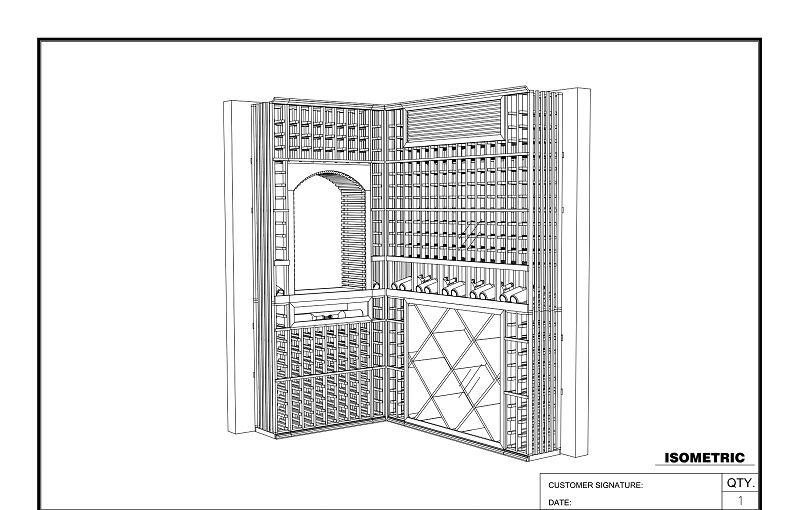 FREE wine cellar design here!