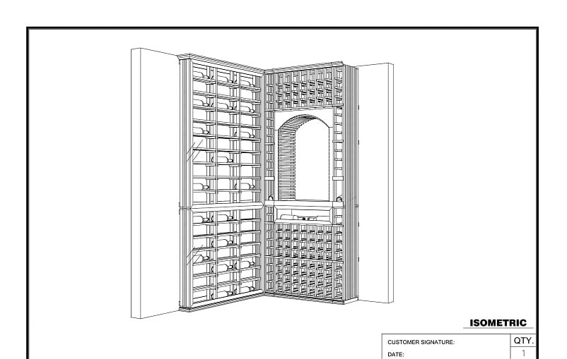 Contact us for a FREE wine cellar design!