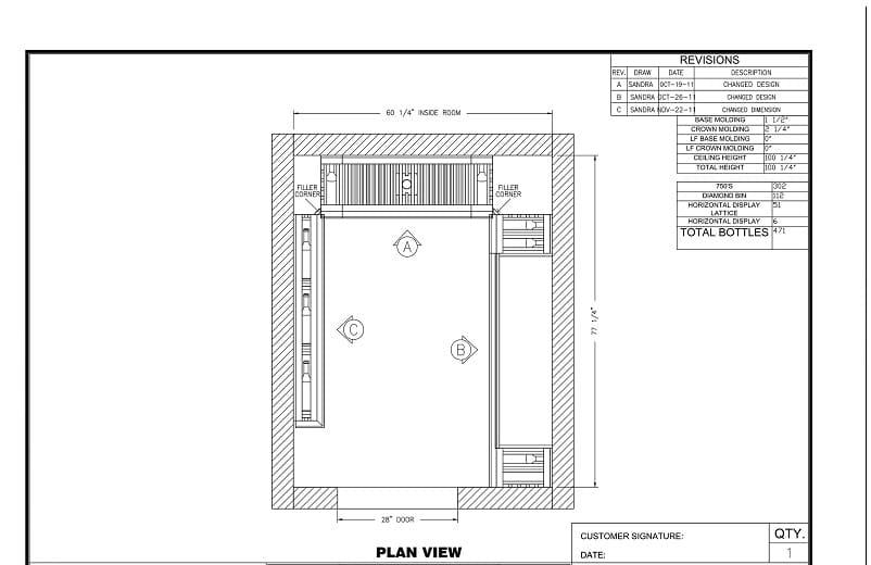 FREE 3D wine cellar design here!