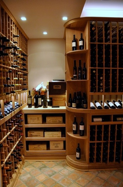 Wine storage in small spaces here!