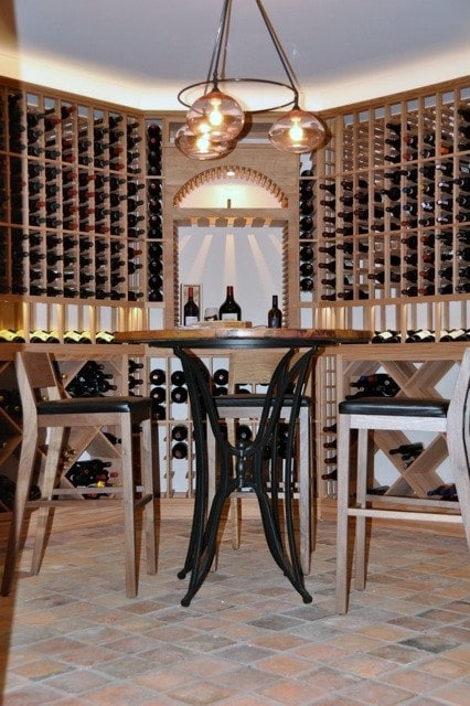 Learn more about wine cellar lighting here!