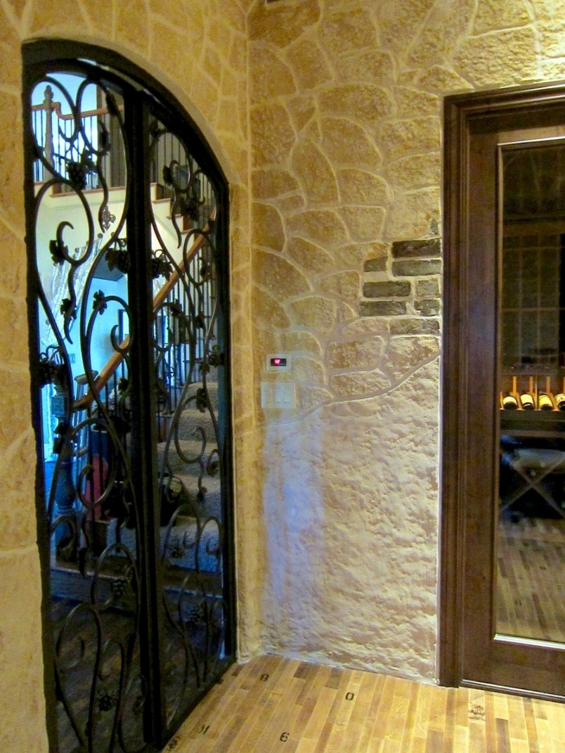 Custom Wine Cellar Doors Manufactured by Las Vegas Nevada Experts