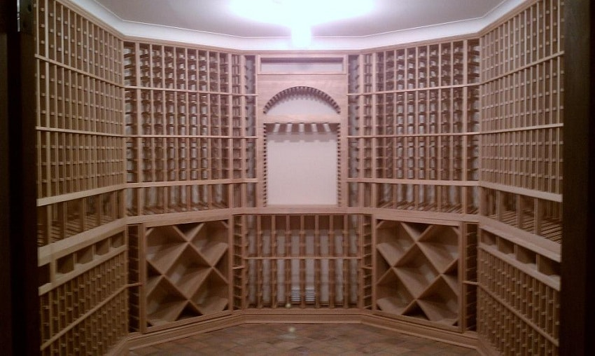 Custom Wine Cellar Rack Installation Project Presidio Heights