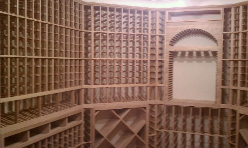 Custom Wine Racks Presidio Heights Nevada Project